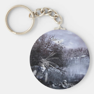 EVERYONE HIDES THEIR SKELETONS BASIC ROUND BUTTON KEYCHAIN