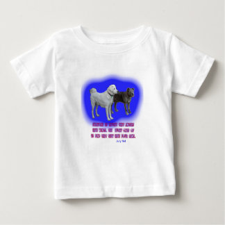 Everyone is taught that angels have wings. baby T-Shirt