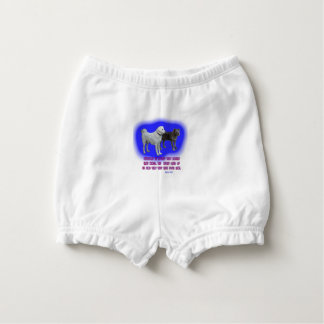 Everyone is taught that angels have wings. diaper cover