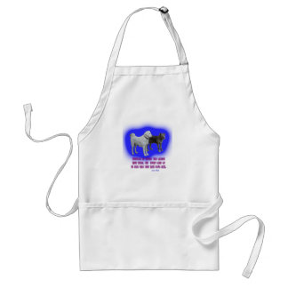 Everyone is taught that angels have wings. standard apron