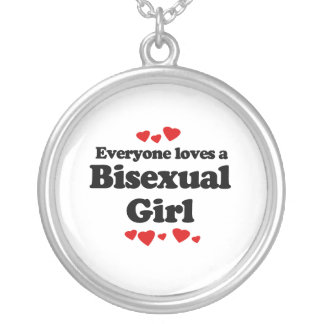 Everyone Loves a Bisexual Girl Pendant