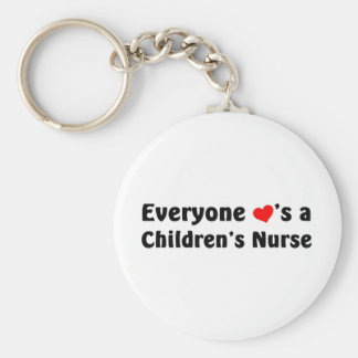 Everyone loves a Children's Nurse Keychain