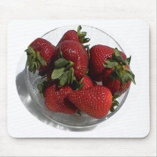 Everyone Loves a Fresh Bowl of Strawberries Mouse Pad