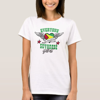 Everyone loves a Guyanese girl T-Shirt