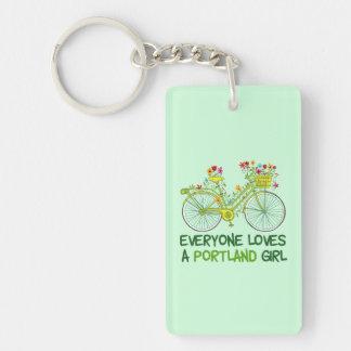 Everyone Loves a Portland Girl Keychain