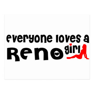 Everyone loves a Reno girl Postcard