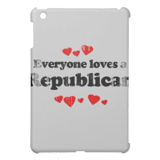 Everyone loves a Republican Faded.png iPad Mini Covers
