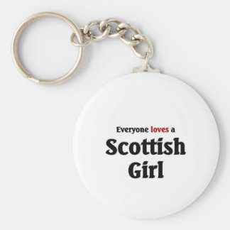 Everyone loves a Scottish Girl Keychain
