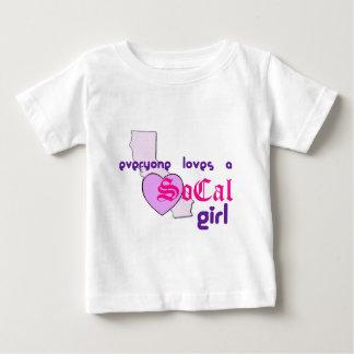 """Everyone loves a SoCal Girl"" T-shirt"