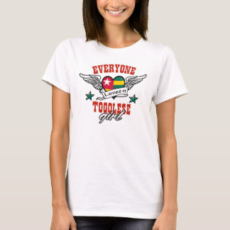 Everyone loves a Togolese girl T-Shirt