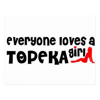 Everyone loves a Topeka girl Postcard