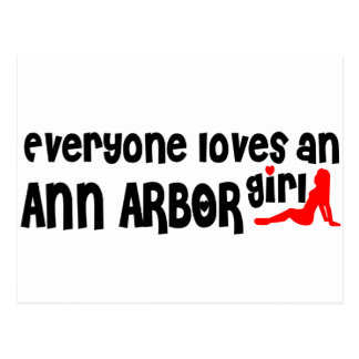 Everyone loves an Ann Arbor girl Postcard