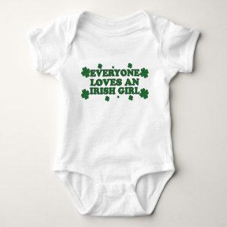 Everyone Loves An Irish Girl Baby Creeper