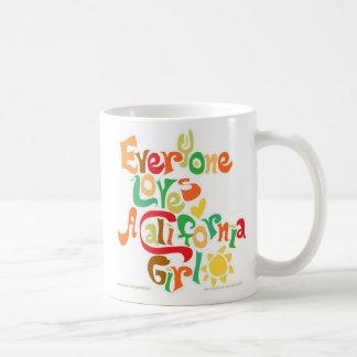 Everyone Loves California Girls Coffee Mug