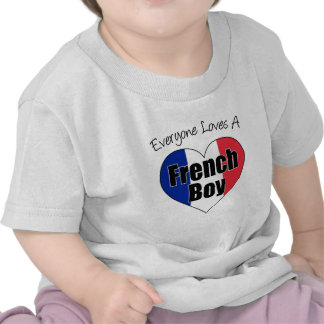 Everyone Loves French Boy T-shirt