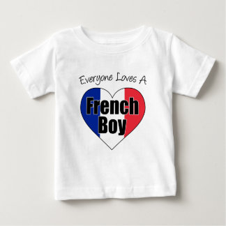 Everyone Loves French Boy Tees