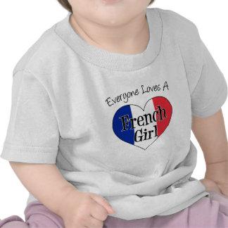 Everyone Loves French Girl Tee Shirt