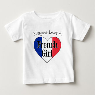 Everyone Loves French Girl T-shirts