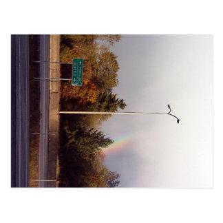 Everyone loves Seattle! Even Leprechauns! Postcard