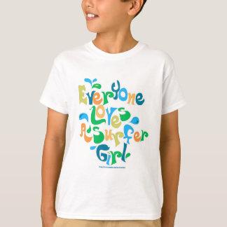 Everyone Loves Surfer Girls T-Shirt