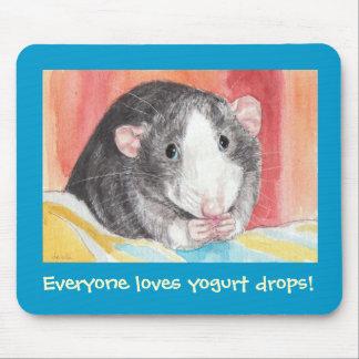 Everyone loves yogurt drops! mouse pad