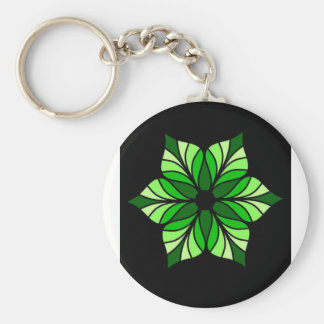 Everyone Needs a Little Green in their Lives Basic Round Button Keychain
