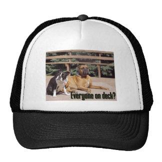 Everyone on deck? trucker hat