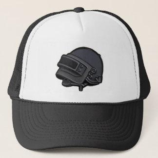Everyones favorite helmet trucker hat