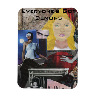 Everyone's Got Demons Pop Art Magnet