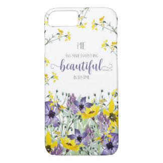 Everything Beautiful - Ecc 3:11 iPhone 7 Case