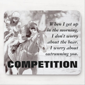 Everything between us becomes a competition mouse pad