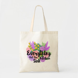 Everything But the Kitchen Sink Tote Bag