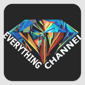 Everything Channel Square Sticker