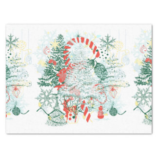 Everything Christmas Red Green White Holiday Tissue Paper