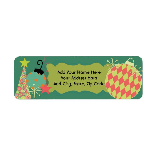 Everything Christmas Return Address Labels