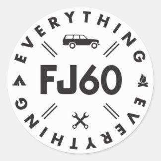 Everything FJ60 Sticker