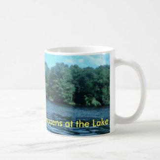Everything Good Happens at the Lake Coffee Mug