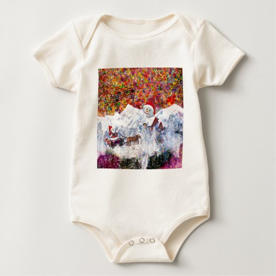 Everything happens during Christmas time Baby Bodysuit