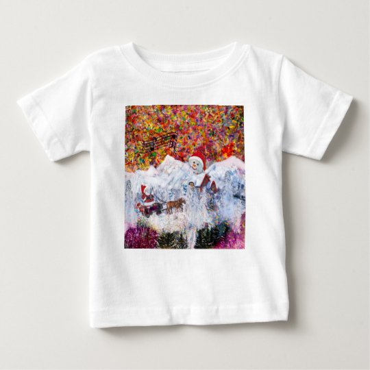 Everything happens during Christmas time Baby T-Shirt