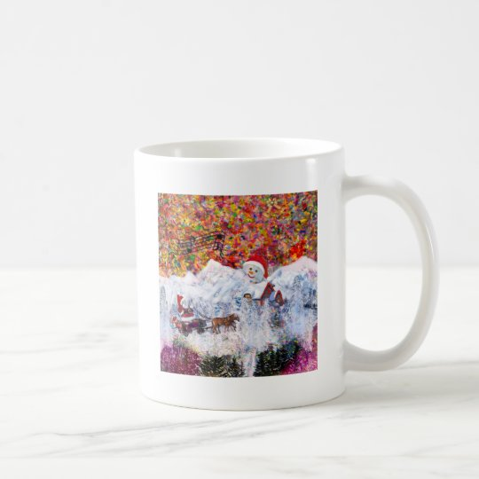 Everything happens during Christmas time Coffee Mug