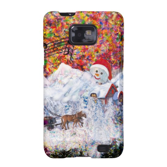 Everything happens during Christmas time Galaxy SII Cases