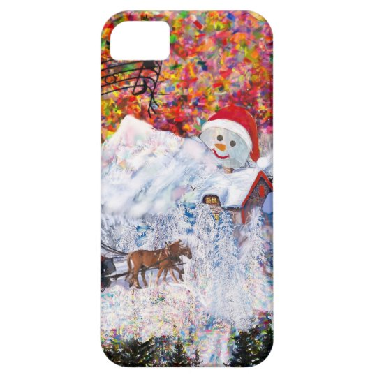Everything happens during Christmas time iPhone 5 Cover