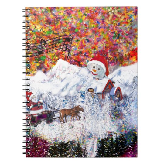 Everything happens during Christmas time Notebooks