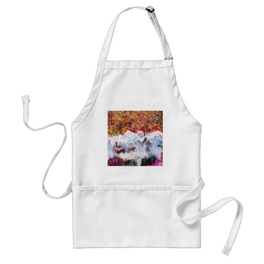 Everything happens during Christmas time Standard Apron
