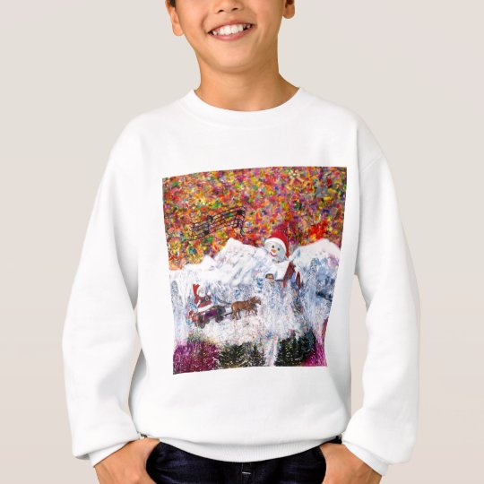 Everything happens during Christmas time Sweatshirt