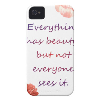 Everything has beauty. iPhone 4 covers
