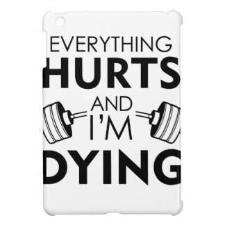 Everything Hurts Gym Black Cover For The iPad Mini