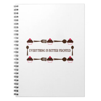 Everything Is Better Frosted Note Books