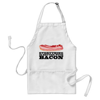 Everything is better with bacon standard apron