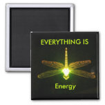 Everything is Energy Square Magnet